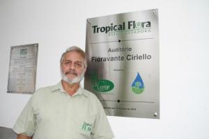 Pedro Ciriello, presidente da Tropical Flora